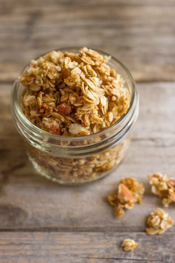 ... granola crusted pear and almond butter panini coconut granola coconut