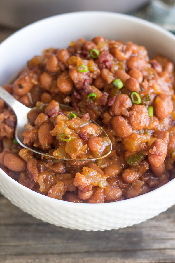 Sweet and Spicy BBQ Baked Beans-5