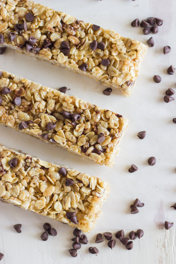 Copycat Quaker Chewy Chocolate Chip Granola Bars - taste just like the ...