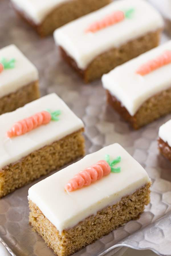 Healthy Carrot Cake And Cream Cheese Frosting