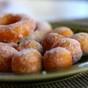 Easy Biscuit Donuts