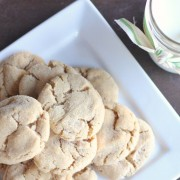 Brown Butter Sugar Cookies