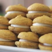 Soft Pumpkin Cream Cookies