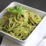 Avocado Pesto Linguine