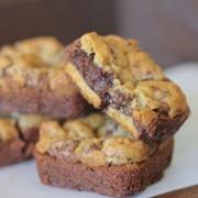 Triple Layer Brownie