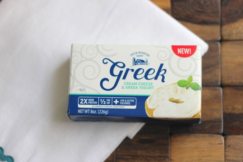 Greek Cream Cheese and Greek Yogurt box.
