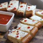 Whole Wheat Garlic Bread Pizza
