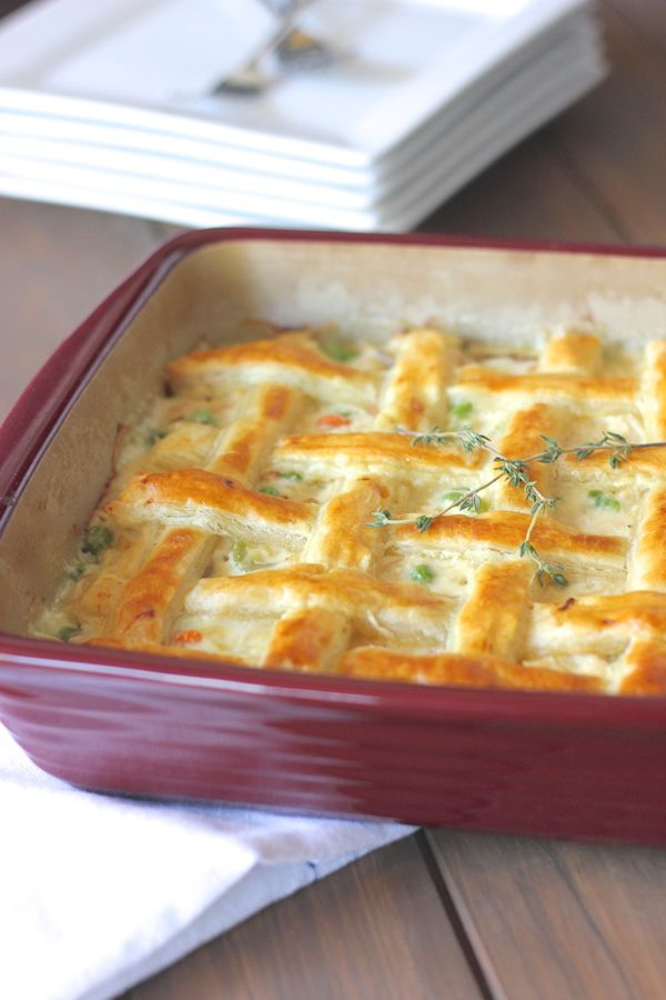 Chicken pot pie lovely little kitchen chicken pot pie in a baking dish forumfinder Images
