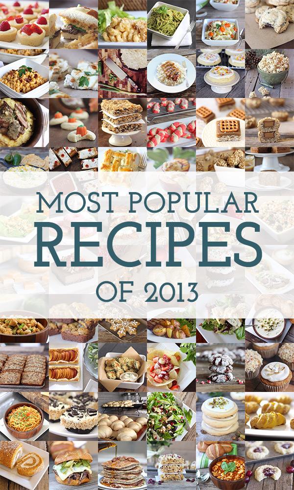 Most Popular Recipes of 2013