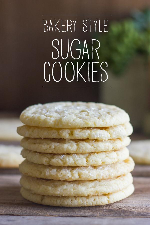 Bakery Style Sugar Cookies - Lovely Little Kitchen