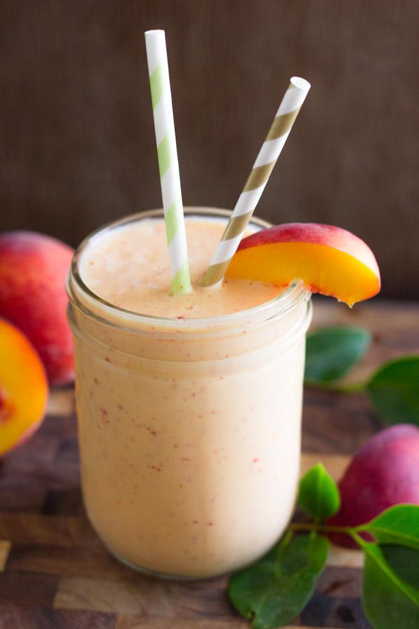 Skinny Peach Cream Slush