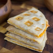 Waffled Pizza Pockets - quick and fun way to make pizza pockets in your waffle maker!