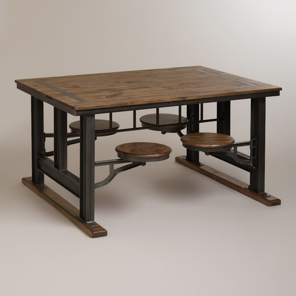 World Market Galvin Cafeteria Table