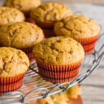 Best Ever Pumpkin Muffins - perfectly sweet with just a little spice!