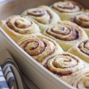 Overnight Cinnamon Rolls With Cream Cheese Frosting - make them the night before and bake them in the morning!