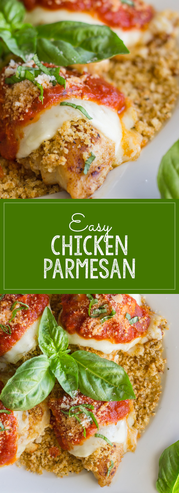 Classic Chicken Parmesan flavor made easier with a tasty shortcut!