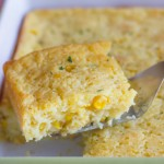 Easy Corn Soufflé - comforting and creamy and super easy to make!