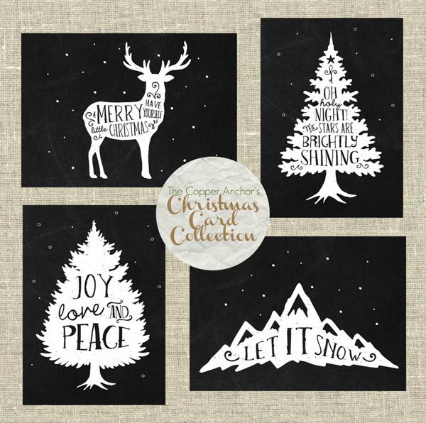 The Copper Anchor - Christmas Card Collection