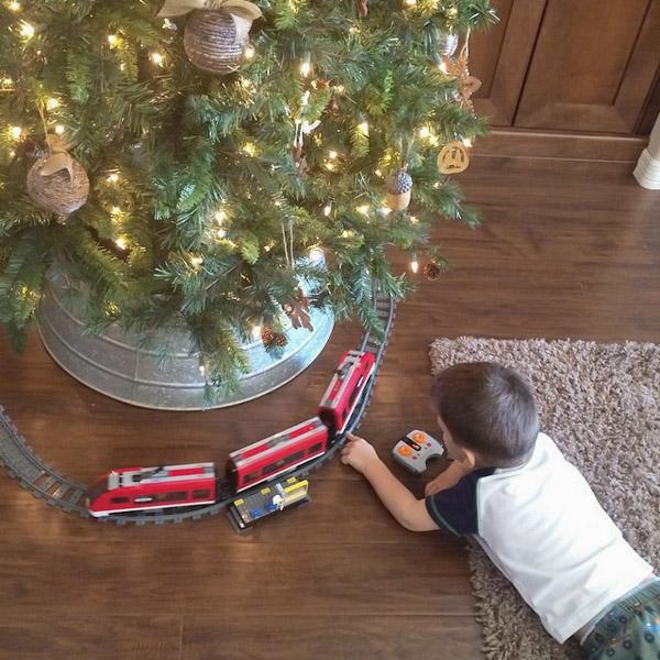 Christmas Tree - Lego Train