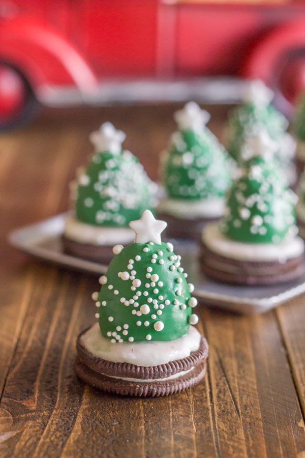 Chocolate Covered Strawberry Christmas Trees Lovely Little Kitchen