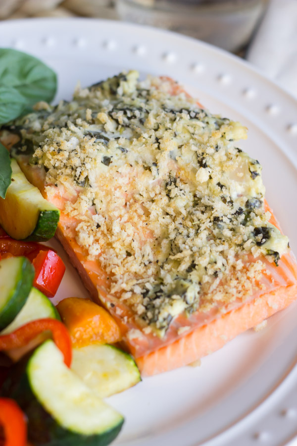 Panko Encrusted Salmon