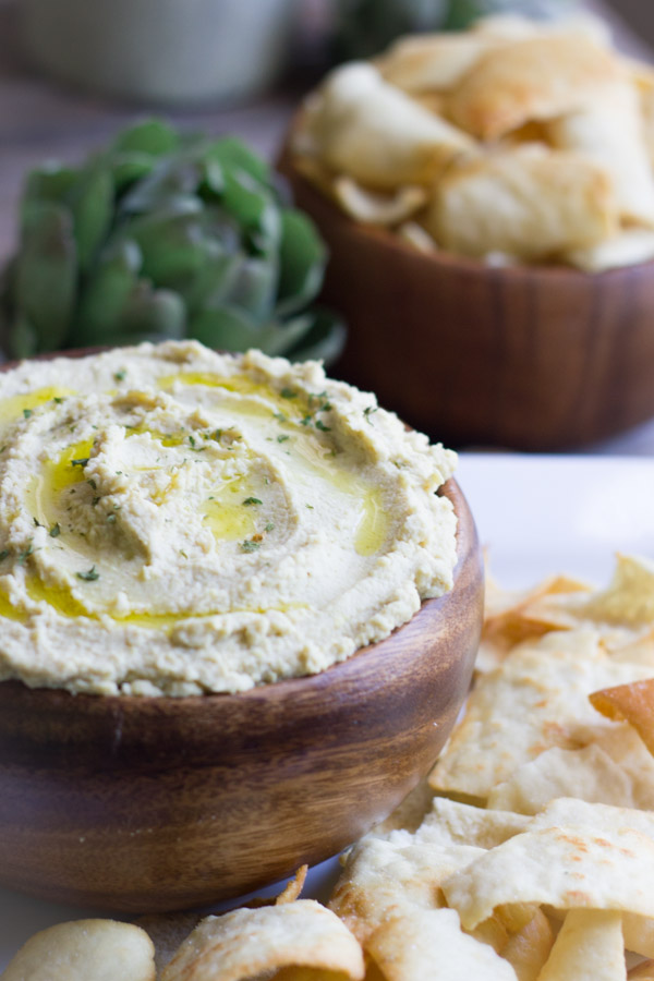 Roasted Artichoke Hummus