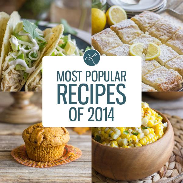 Most Popular Recipes of 2014