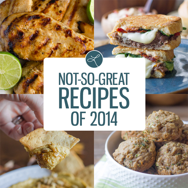 Not-So-Great Recipes of 2014