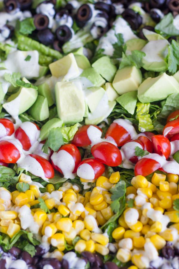 Healthy Chopped Taco Salad