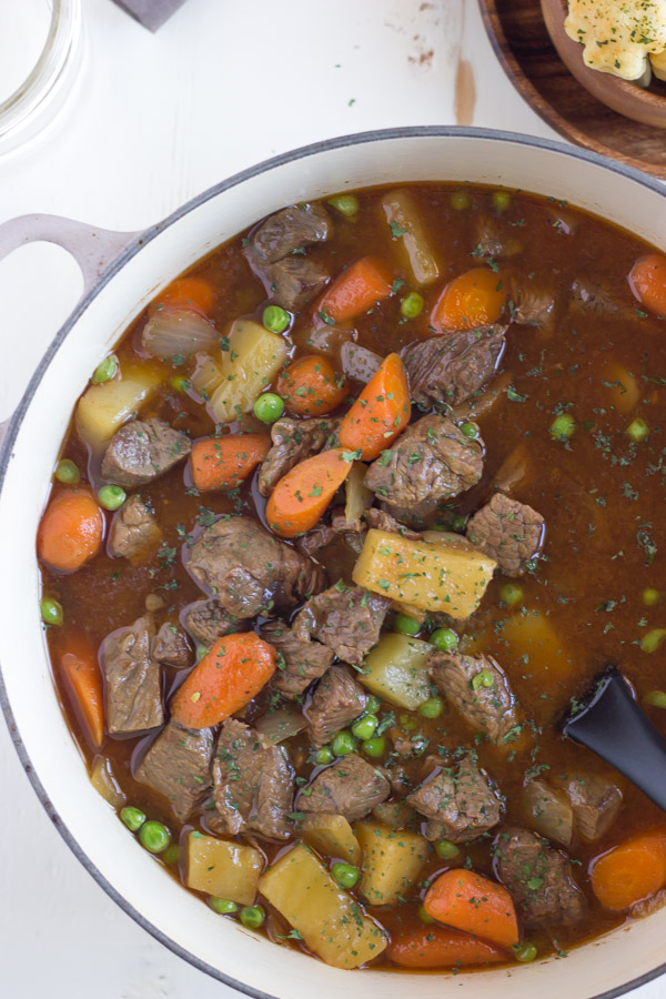 Irish Beef Stew in a large pot.