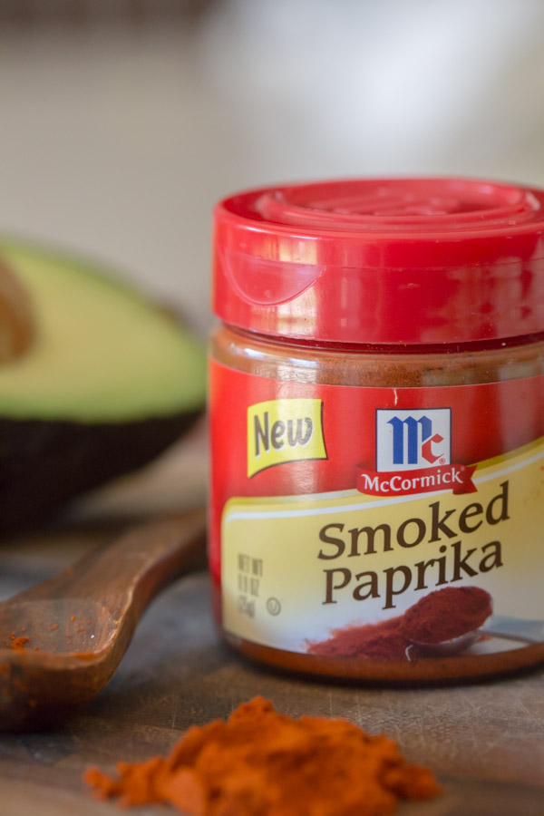 A small spice container of McCormick Smoked Paprika.