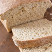 Easy Honey Whole Wheat Bread - Made without refined sugar and packed with whole wheat, this is a great recipe for beginner bread makers!