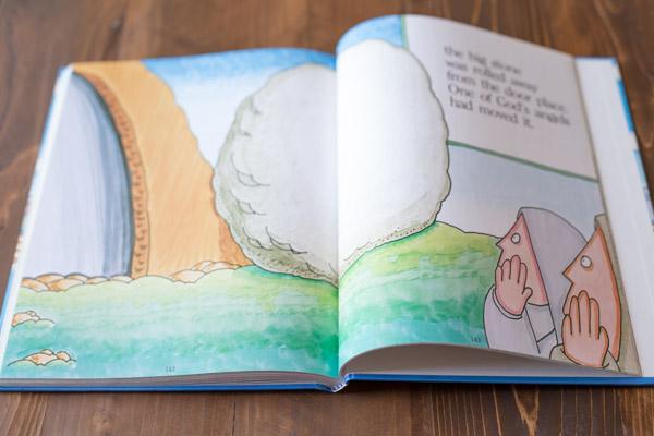 A children's Bible story book.