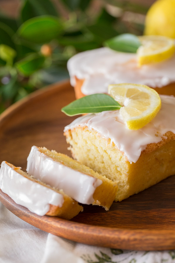 Lemon Pound Loaf Cake Recipe