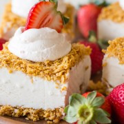 Fried Ice Cream Bars - Much easier than traditional fried ice cream with the same delicious taste!