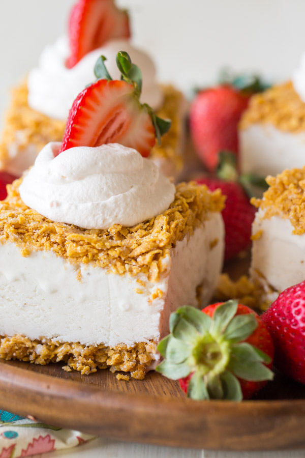 Fried ice cream bars lovely little kitchen fried ice cream bars ccuart Image collections