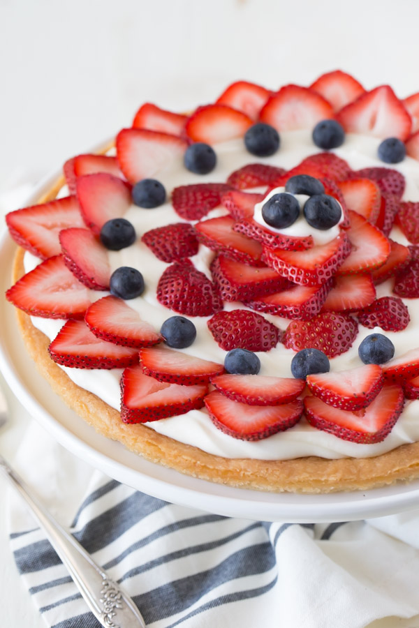 Strawberry Cream Cheese Tart Lovely Little Kitchen