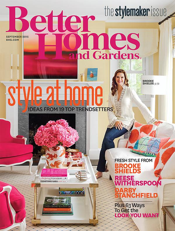 Better Homes and Gardens September 2015