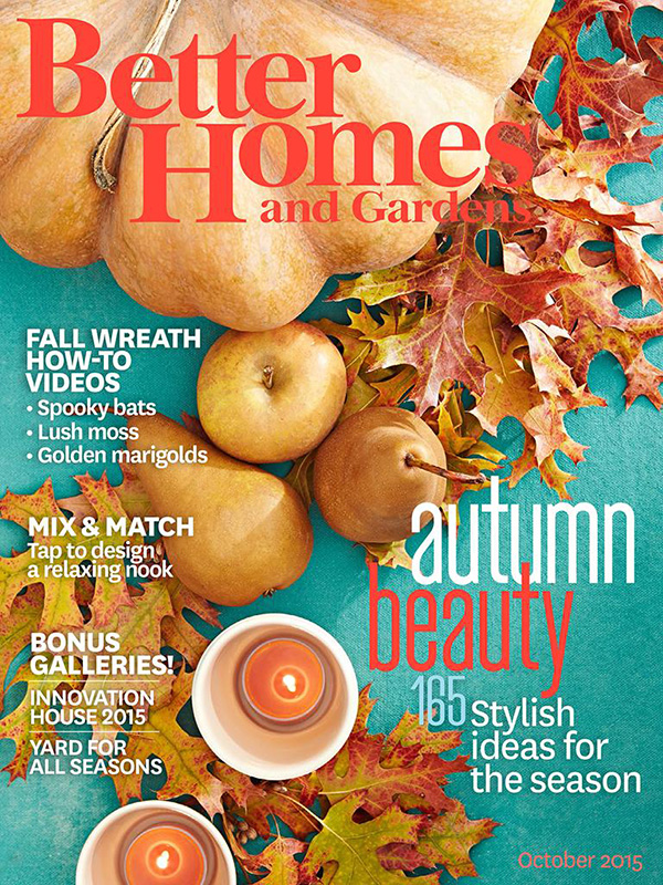 Better Home and Gardens October 2015 Issue