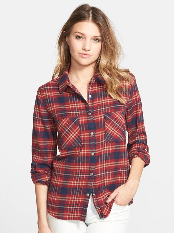Nordstrom Flannel Shirt