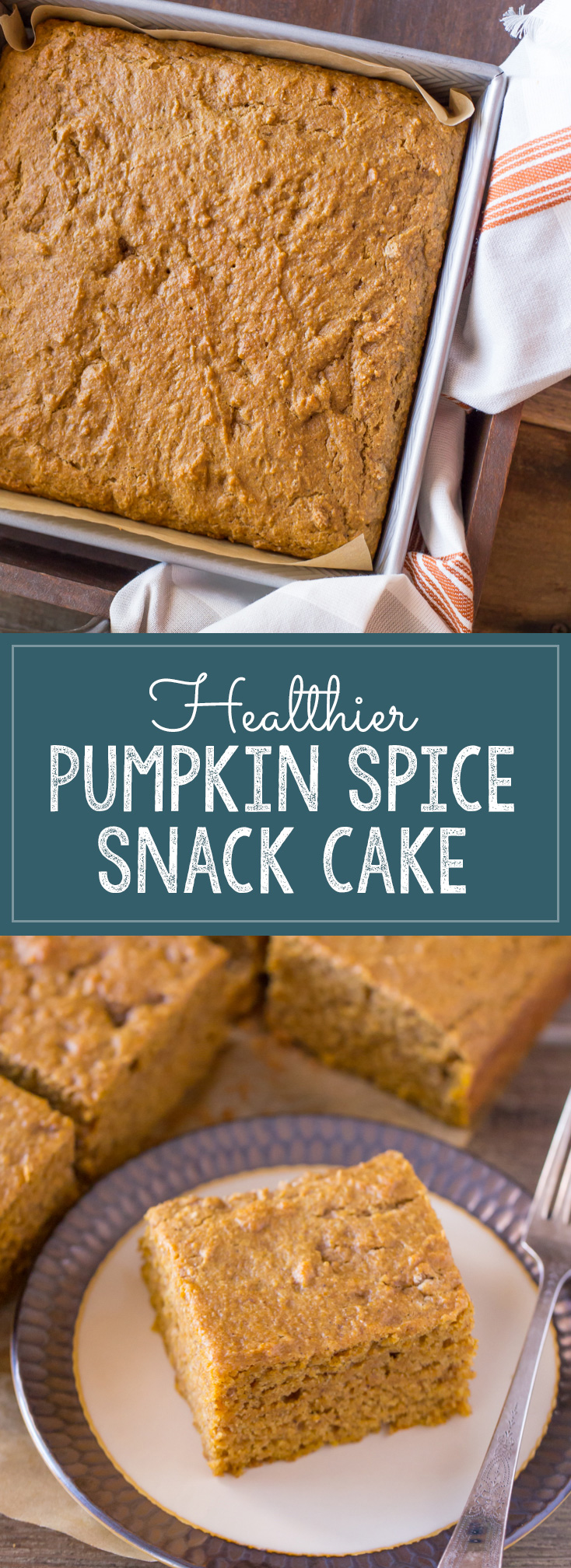 Healthier Pumpkin Spice Snack Cake Lovely Little Kitchen