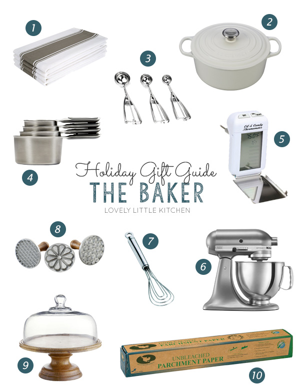 Holiday Gift Guide for the Baker - A list of things any baker would be happy to unwrap!