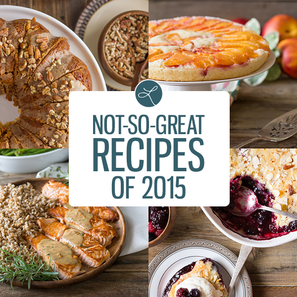Not-So-Great Recipes of 2015