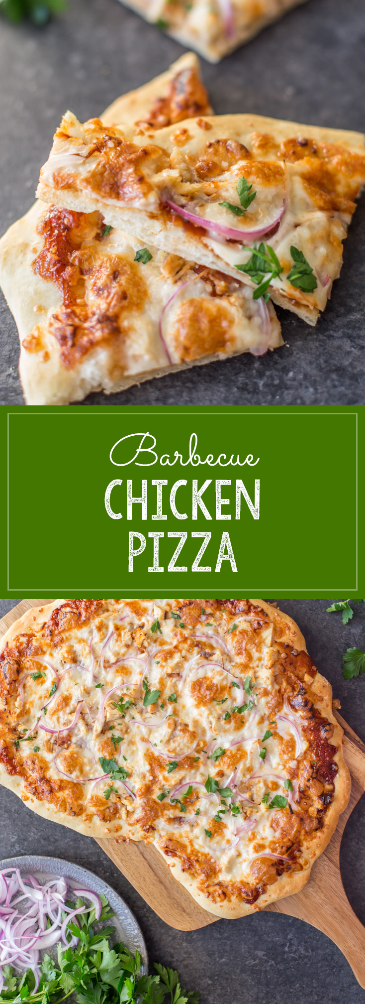 Barbecue Chicken Pizza - Lovely Little Kitchen