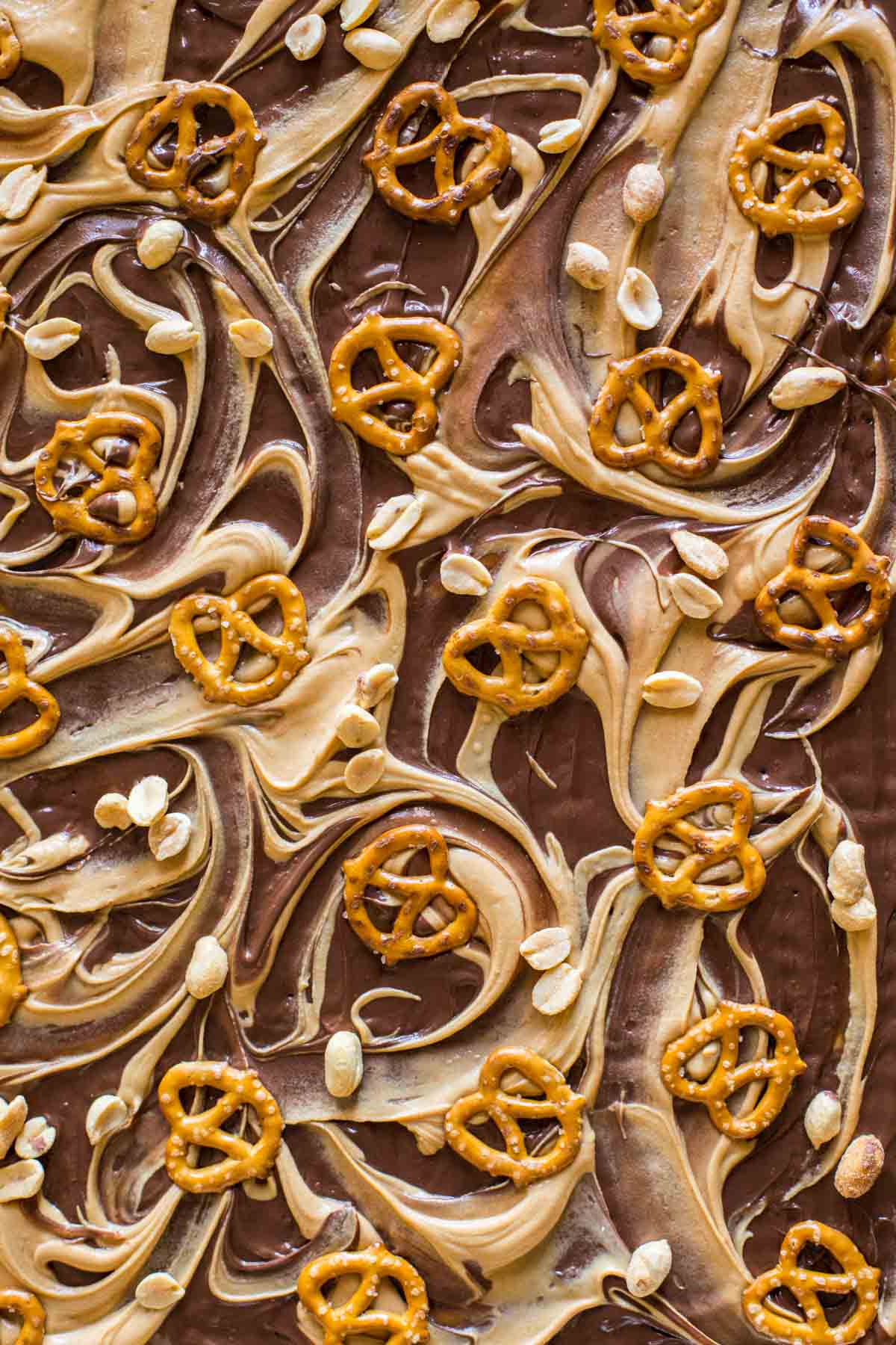 Close up shot of the Take Five Cracker Bark.