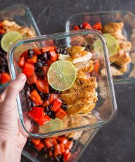 These healthy bowls are everything you need to get through your busy day, and can be made up ahead for quick portable lunches.