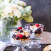 These Chia Pudding Parfaits definitely feel more like an indulgent treat, but are full of all things good for you!