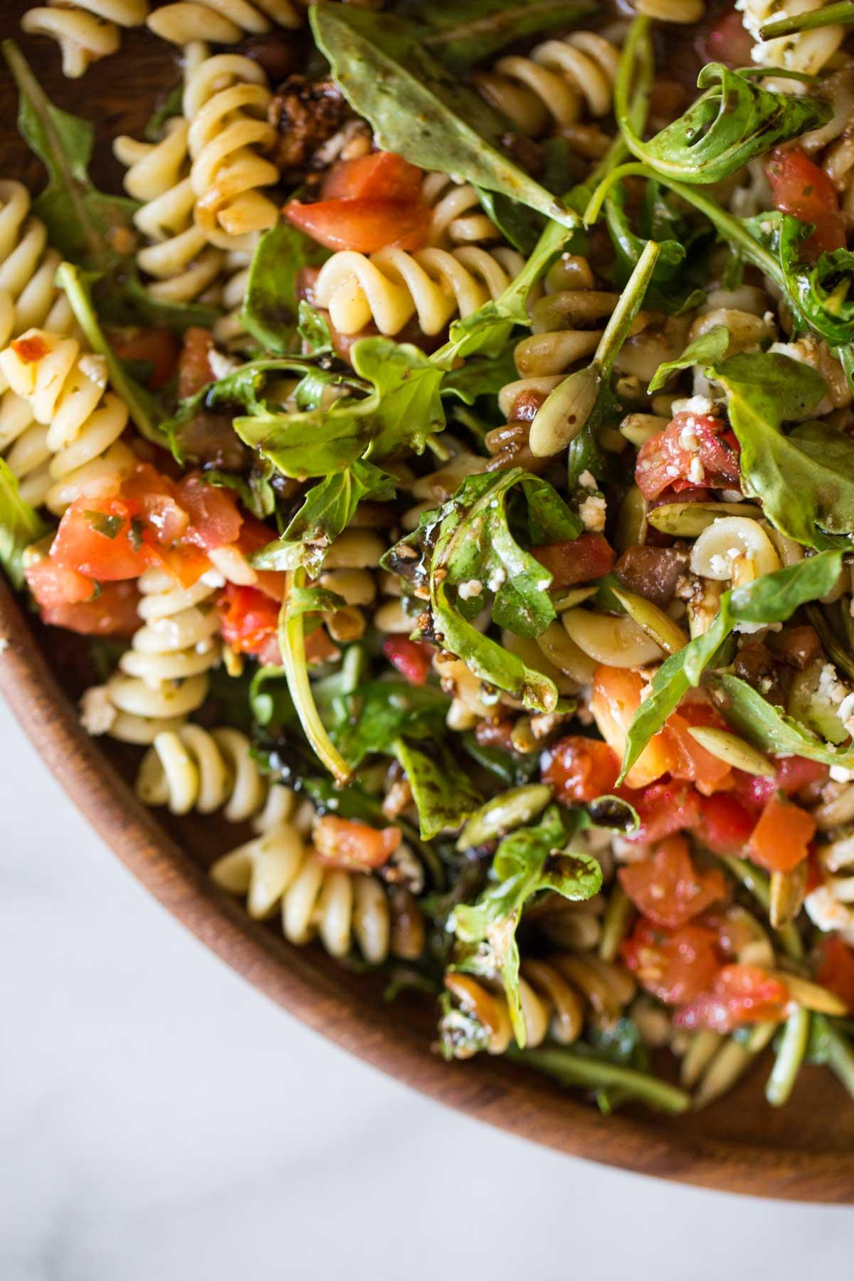 Bruschetta Pasta Salad.
