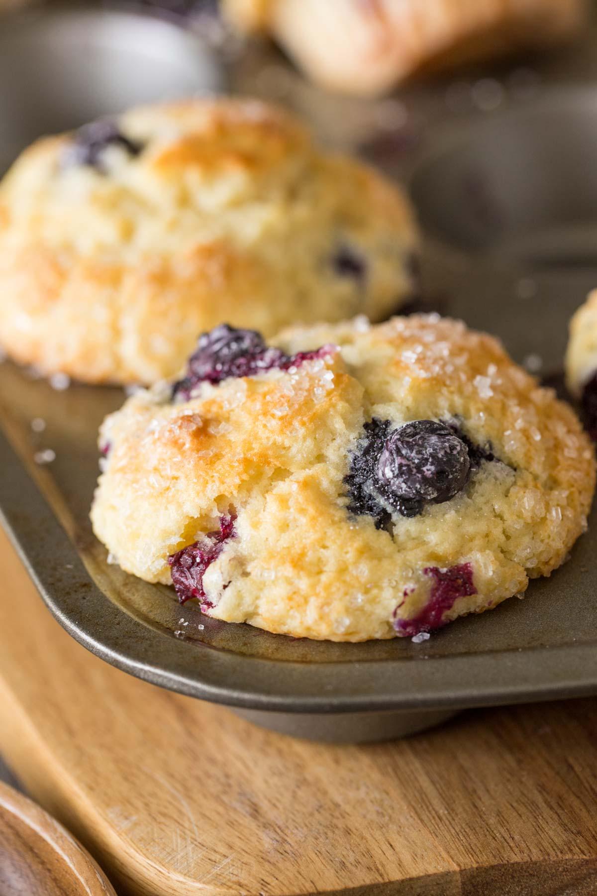Muffin recipe buttermilk blueberry
