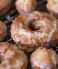 Old Fashioned Glazed Buttermilk Donuts